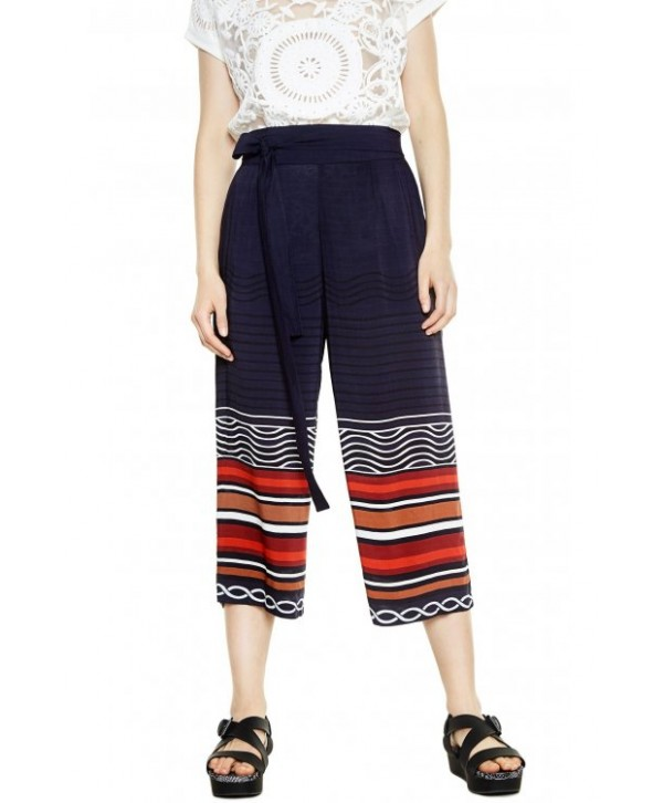 2020 new Desigual   Flowing trousers F0268