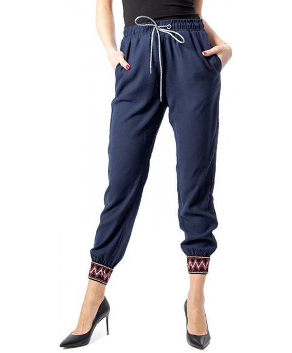 2020 new Desigual  Women Printed  casual  pants