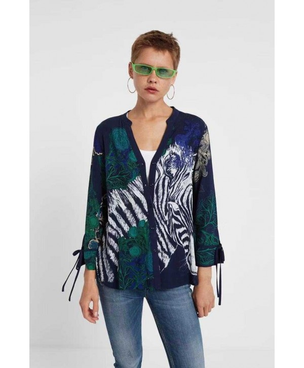 2020 new Desigual  Women Shirt  19WWCWX75000